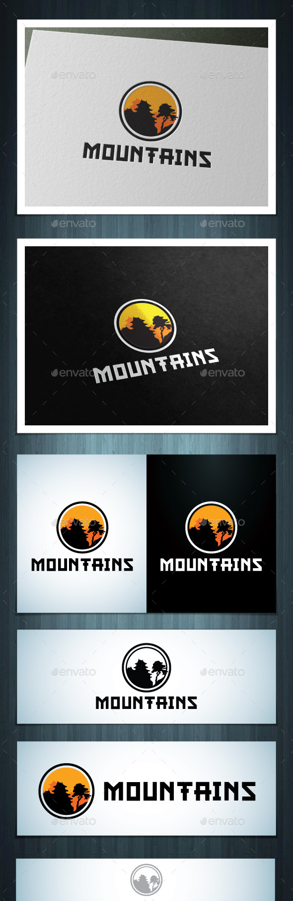 GraphicRiver Mountains 10526795
