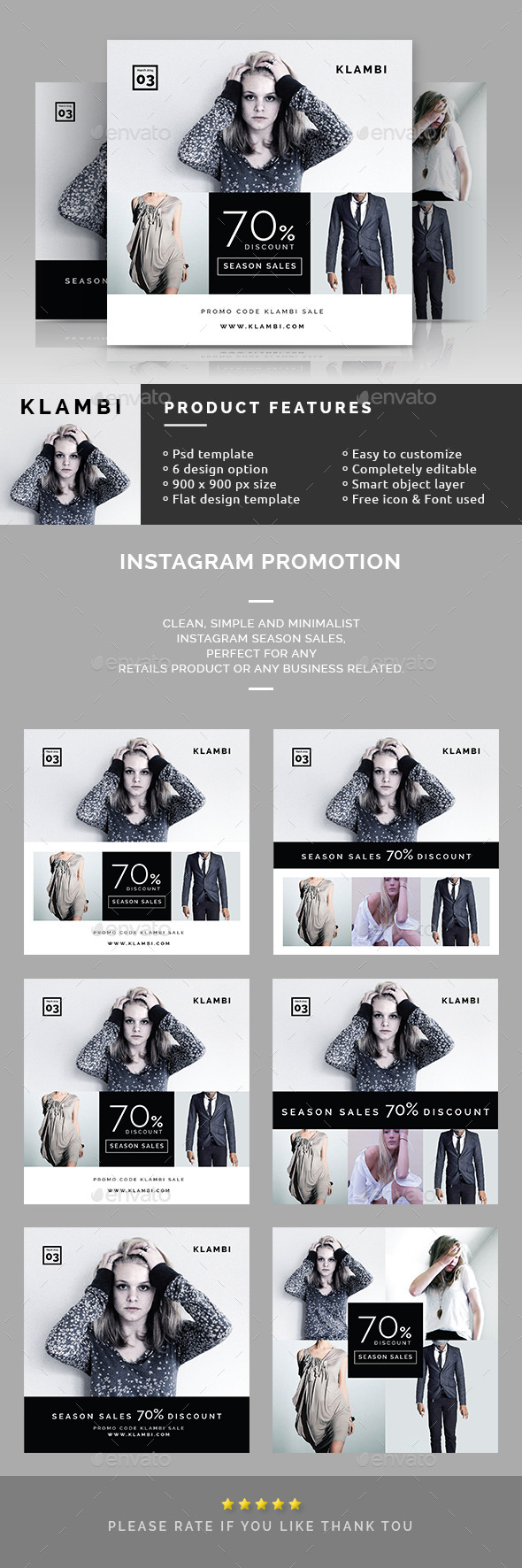 GraphicRiver Instagram Promotion Banners 10526889