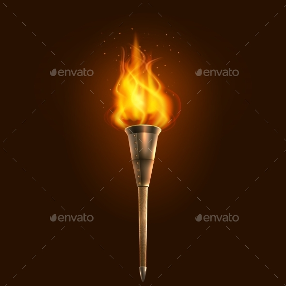 GraphicRiver Torch Illustration 10526896