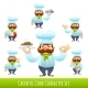 Cook Cartoon Characters - GraphicRiver Item for Sale