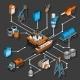 Petroleum Isometric Flowchart - GraphicRiver Item for Sale