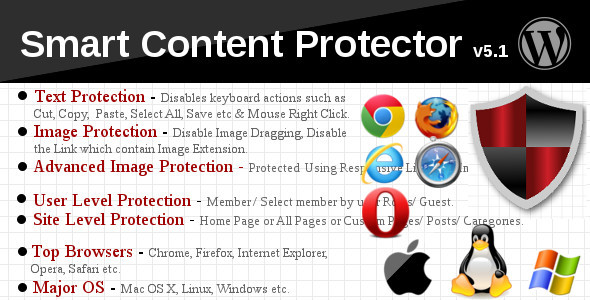 Smart Content Protector - Pro WP Copy Protection - CodeCanyon Item for Sale