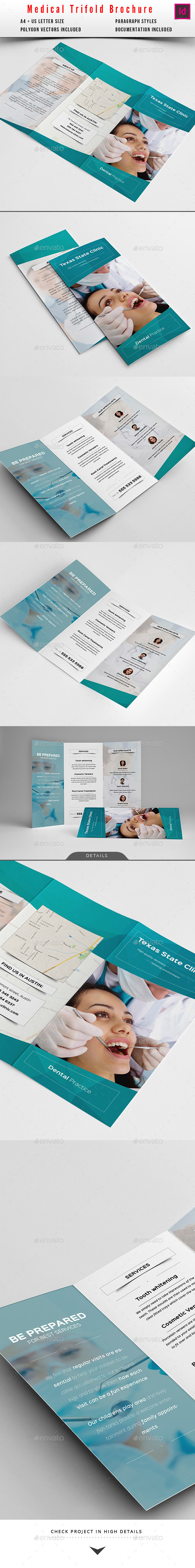 GraphicRiver Medical Multipurpose Trifold Brochure 10527577