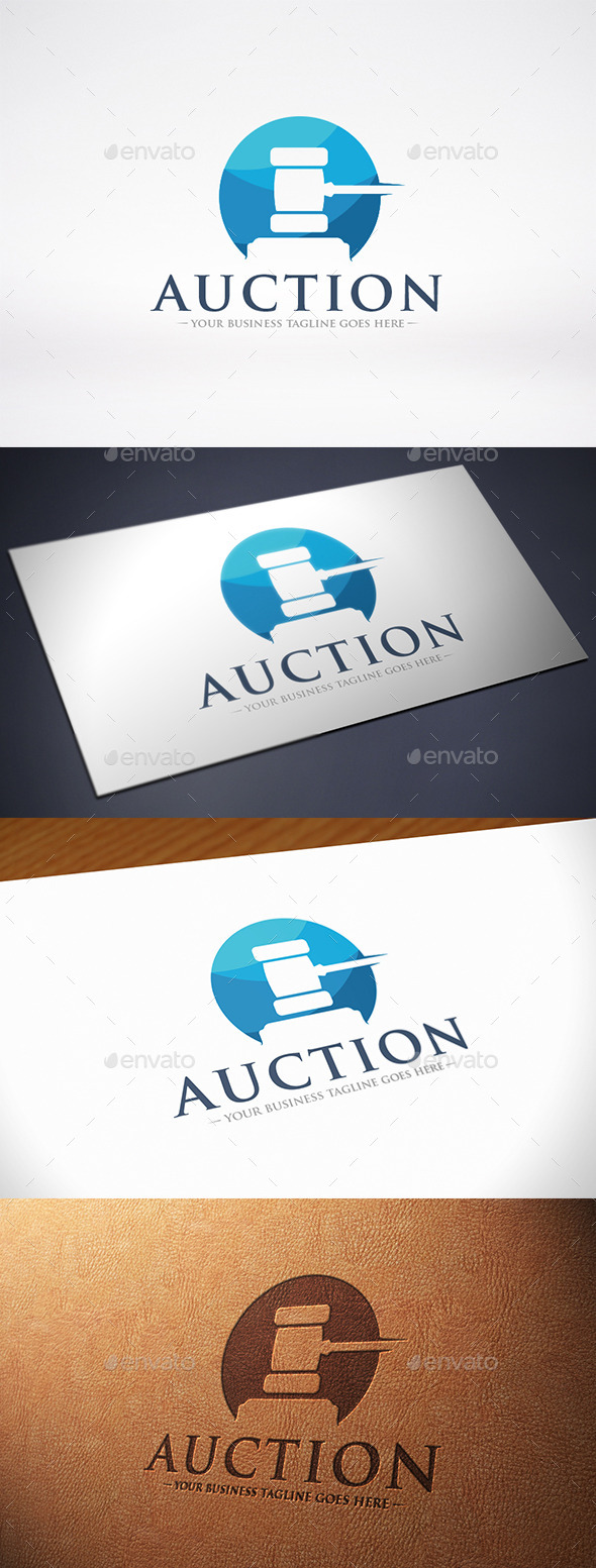 GraphicRiver Auction Logo Template 10527581