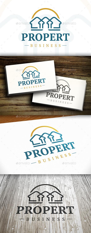 GraphicRiver Luxury Real Estate Logo 10527616