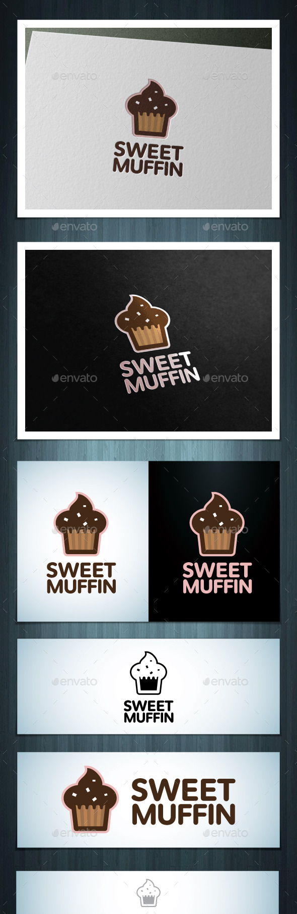 GraphicRiver Sweet Muffin 10527621