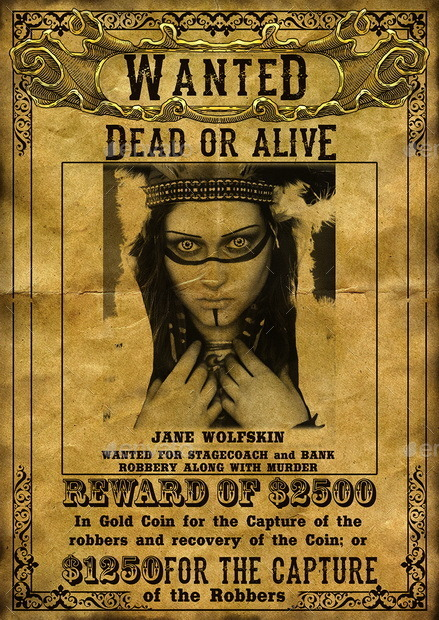 Real Wanted Poster 2012 – images free download - 110 best images ...