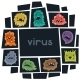 Background with Little Angry Viruses and Monsters - GraphicRiver Item for Sale
