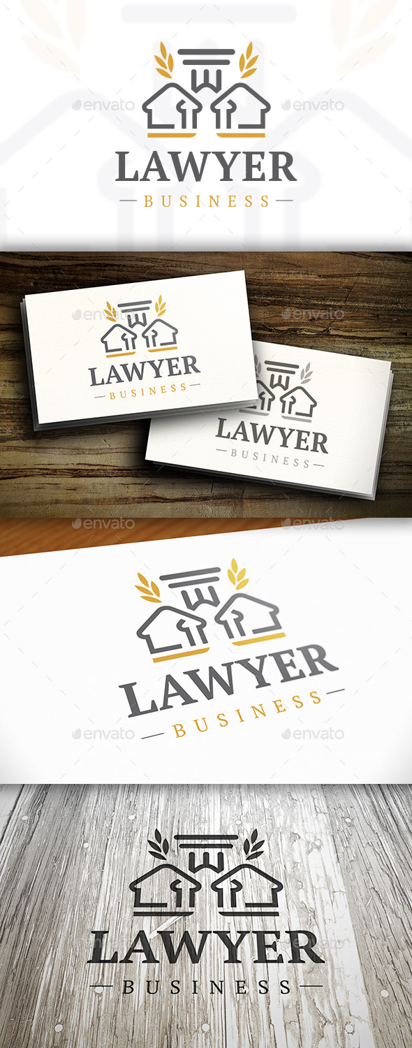 GraphicRiver Lawyer Logo 10527873
