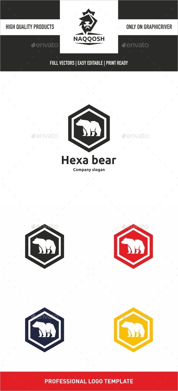 GraphicRiver Hexa Bear 10498438