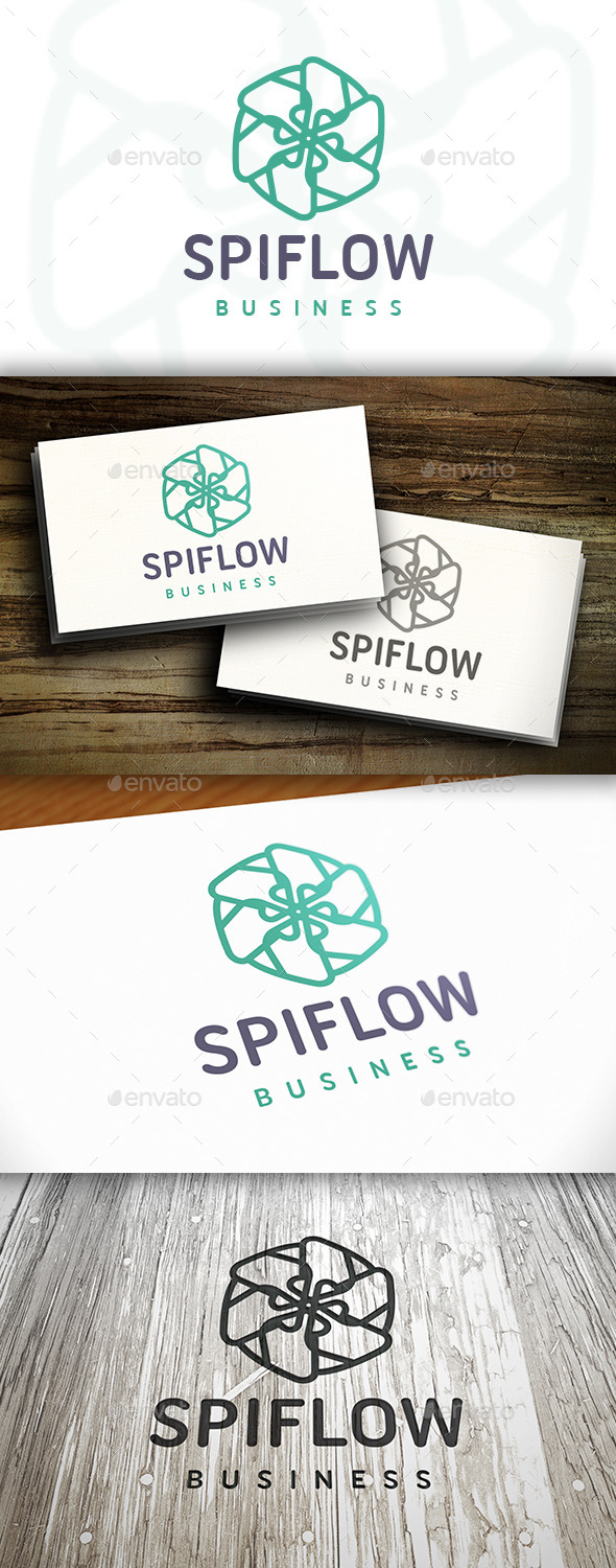 GraphicRiver Abstract Flower Logo 10528740
