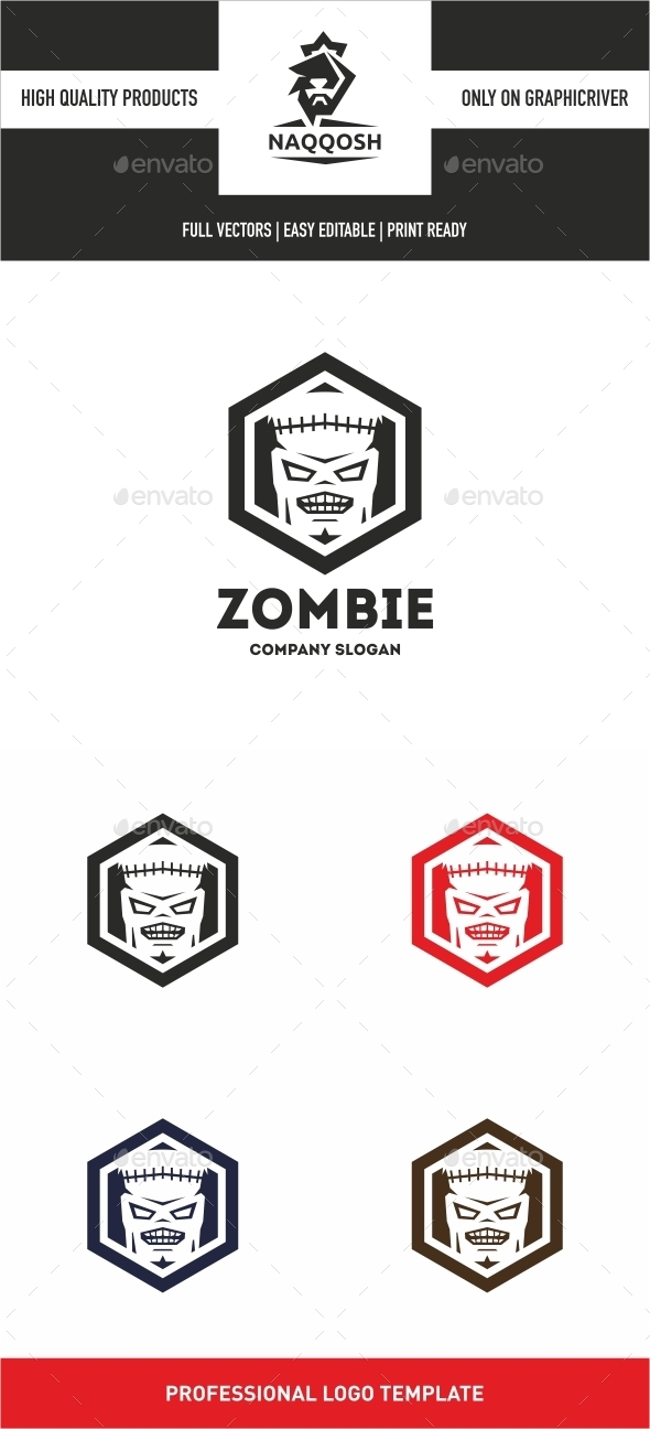 GraphicRiver Zombie 10499026