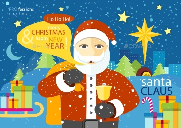 GraphicRiver Santa Claus 10528957