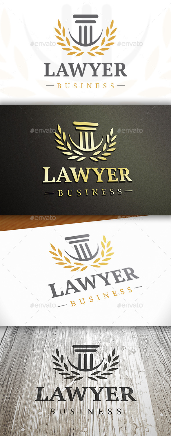 GraphicRiver Law Elegant Logo 10528985
