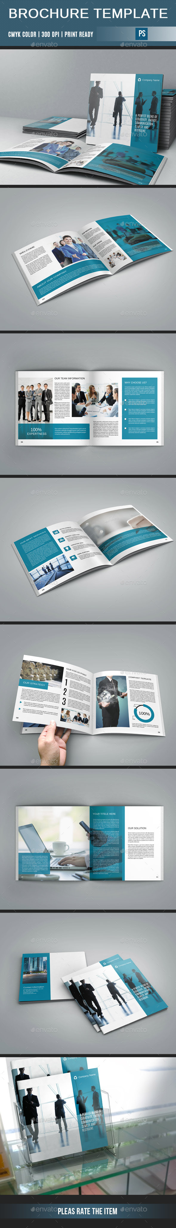 GraphicRiver Corporate Square Brochure-V206 10529129