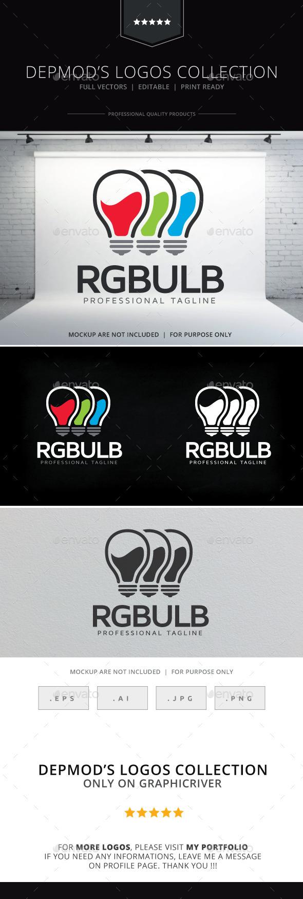 GraphicRiver RGBulb Logo 10529132