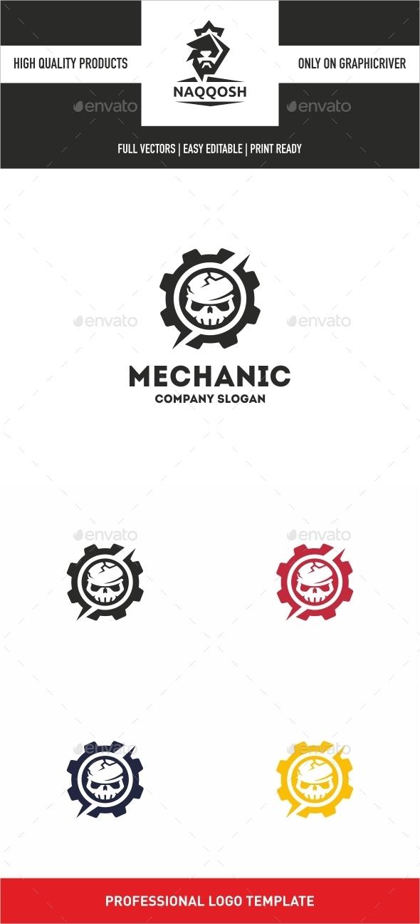 GraphicRiver Mechanic 10529322
