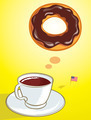 Coffee and Donut - PhotoDune Item for Sale