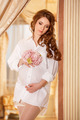 Pregnant woman in white shirt - PhotoDune Item for Sale
