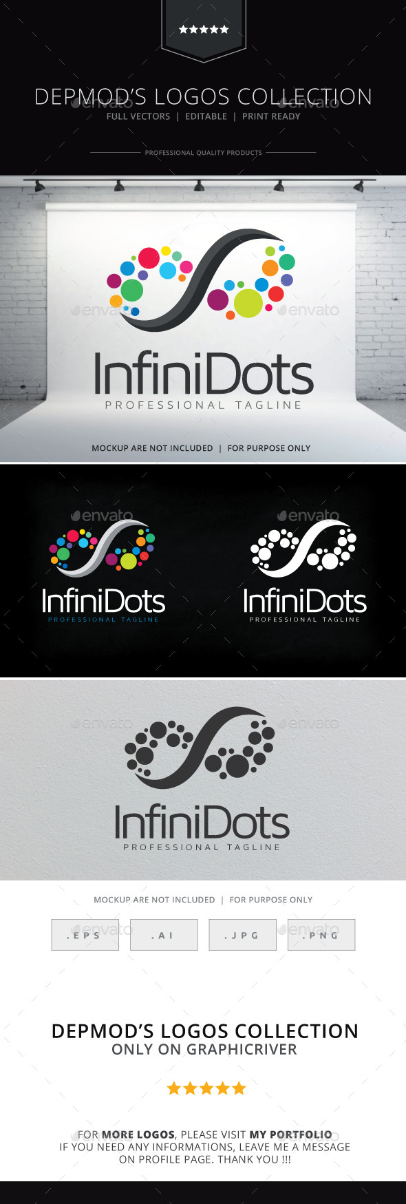 GraphicRiver Infini Dots Logo 10529854