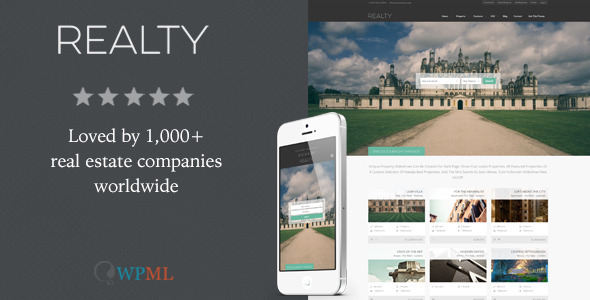 Realty - Responsive Real Estate WordPress Theme - Real Estate WordPress