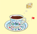 Turkish Coffee and Delight - PhotoDune Item for Sale