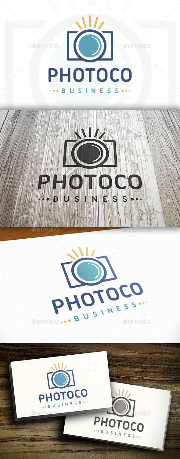 GraphicRiver Photo Shot Logo 10530180