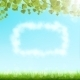 Cloud Frame On Sky Background. - GraphicRiver Item for Sale
