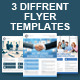3 Corporate Flyer Template - GraphicRiver Item for Sale