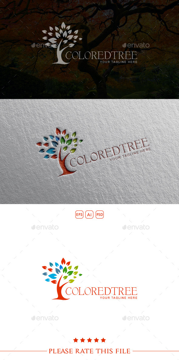 GraphicRiver Tree Logo 10499028