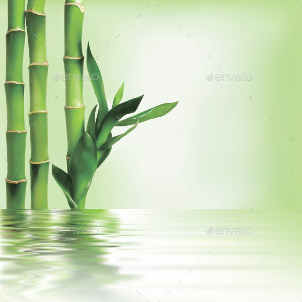 GraphicRiver Bamboo Background 10530510