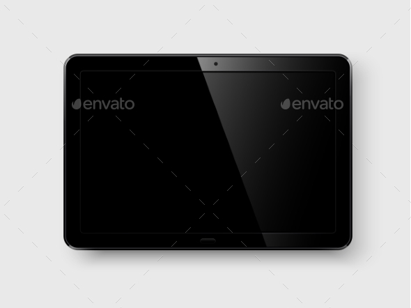 GraphicRiver Tablet pc Vector 10531014