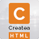 Createa HTML Multipurpose Onepage Template - ThemeForest Item for Sale