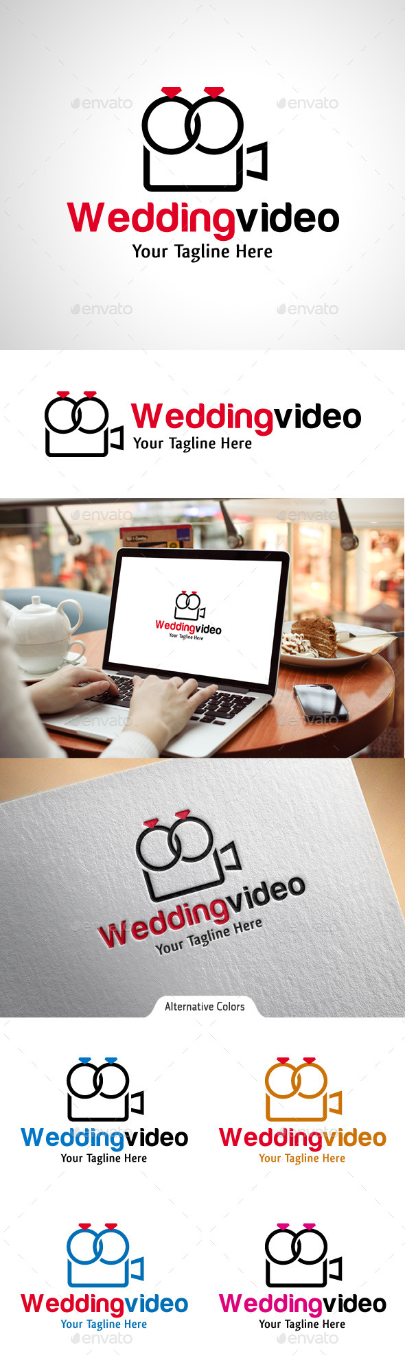 GraphicRiver Wedding Video Logo 10531663