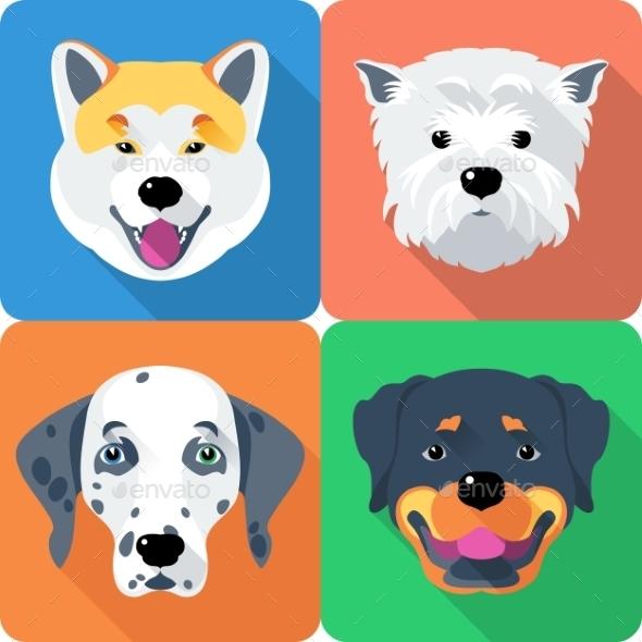 GraphicRiver Dog Icons 10531913
