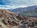 Ancient ruined Buddhist monastery. Himalayas, North India - PhotoDune Item for Sale