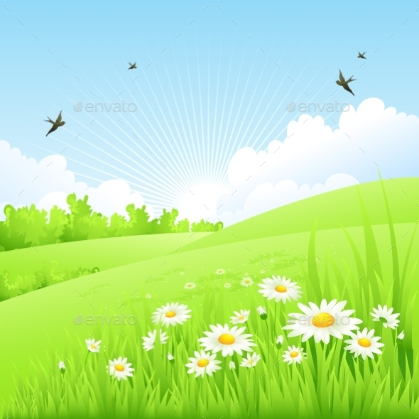 GraphicRiver Spring Background 10533007