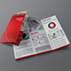 Corporate Tri-Fold Brochure + Business Card - GraphicRiver Item for Sale