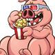 Fat Pig - GraphicRiver Item for Sale