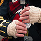 Hands Playing The Bagpipes - VideoHive Item for Sale
