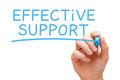 Effective Support Blue Marker - PhotoDune Item for Sale