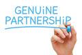 Genuine Partnership Blue Marker - PhotoDune Item for Sale
