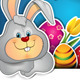 Rabbit with Easter Eggs - GraphicRiver Item for Sale