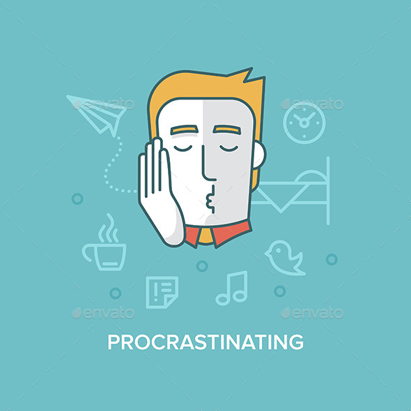 GraphicRiver Procrastinating 10534491