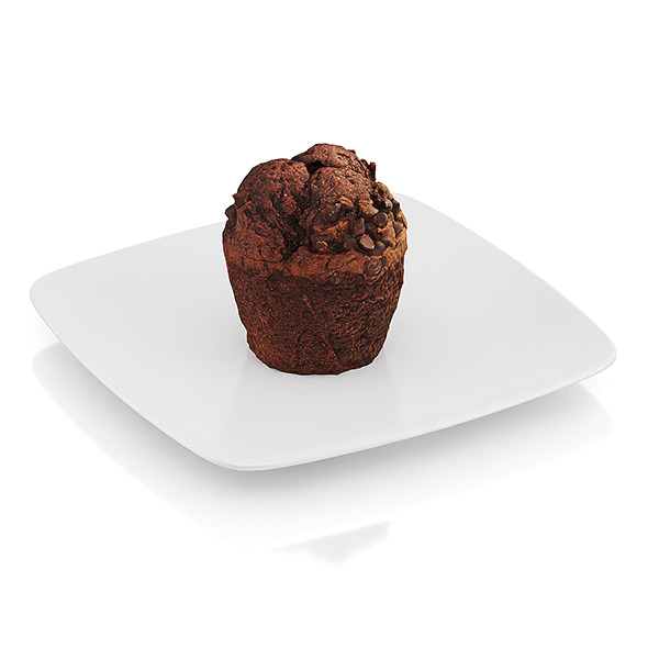 Chocolate muffin - 3DOcean Item for Sale