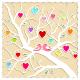 Springtime Love Tree and Birds - GraphicRiver Item for Sale