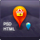 Link toHtml directory geolocation, social network