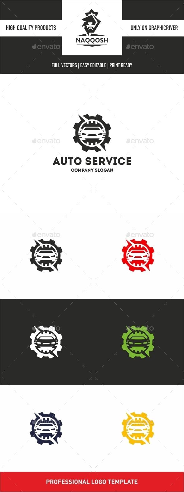 GraphicRiver Auto Service 10534678