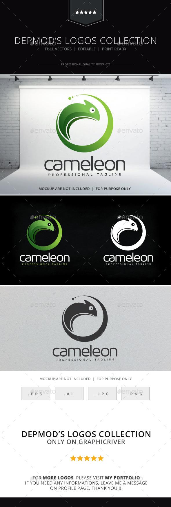 GraphicRiver Cameleon Logo 10534736