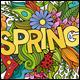 Spring Doodles Illustrations - GraphicRiver Item for Sale
